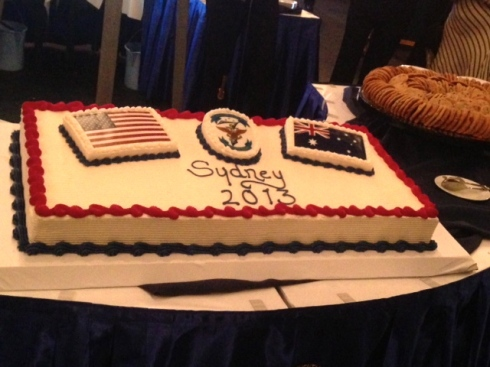 Blue Ridge cake